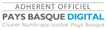 Badge du cluster pays basque digital